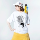 AURA_HYSTERICAのSingin' in the Rain Washed T-shirtsの着用イメージ(裏面)