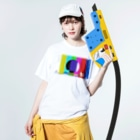 TKCH ONLINE STORAGE B1のWASHED COLORBAR'N'HEAVEN Washed T-shirtsの着用イメージ(表面)