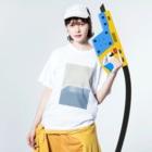 ▷            chiroruの🌊 pool Washed T-shirtsの着用イメージ(表面)