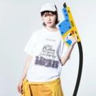 SHOP ROMEO のbartotomeo unit T  Washed T-shirtsの着用イメージ(表面)