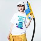 SHOP ROMEO のRomeo kumachan pancake N Washed T-shirtsの着用イメージ(表面)
