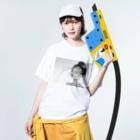 美流乃~Milno~のKissed by The Wind Washed T-shirtsの着用イメージ(表面)