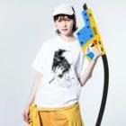 山科ティナのさよならの前に Washed T-shirtsの着用イメージ(表面)