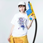 AURA_HYSTERICAのSingin' in the Rain Washed T-shirtsの着用イメージ(表面)