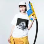 CTRL shopのoctopus Washed T-shirtsの着用イメージ(表面)
