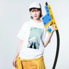 古春一生(Koharu Issey)の今日じゃない。 Washed T-shirtsの着用イメージ(表面)