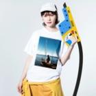 yutoyouのMadagascar sailing Washed T-shirtsの着用イメージ(表面)