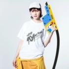 WEBPLAの404 NOT FOUND Washed T-shirtsの着用イメージ(表面)