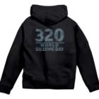"""""""すずめのおみせ"""" SUZURI店のSUZUME DAY 320 Zip Hoodies"""