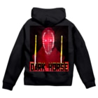 Danke Shoot CoffeeのDark House Player  Zip Hoodies