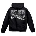 AURA_HYSTERICAのBuy high, sell higher Zip Hoodies