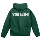 【仮想通貨】ADKグッズ(Tシャツ等)専門店 のYOU WIN! Zip Hoodies