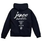 JENCO IMPORT & CO.のJENCO 2019AW_LOGO Zip Hoodies