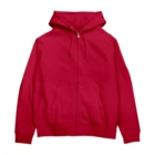 Red & Gold in USAのモゥ幸せになるよ Zip Hoodies