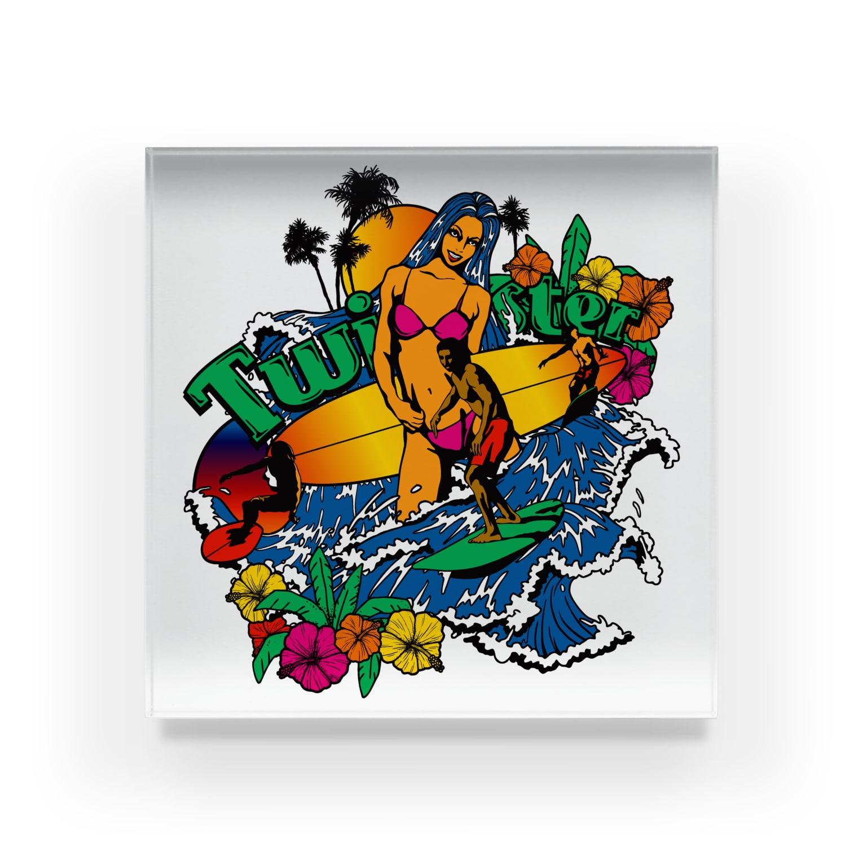 JOKERS FACTORYのTWISTER Acrylic Block