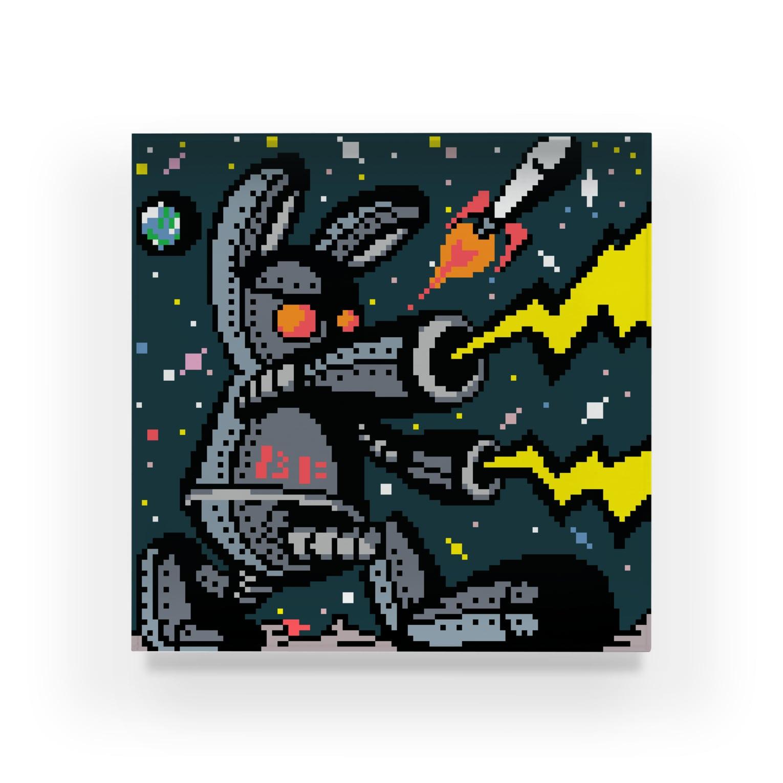 BAD FACTORYの月の平和を守れ‼ Acrylic Block
