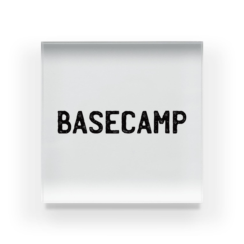 BASE-CAMPのBASE CAMP BLACK03 Acrylic Block