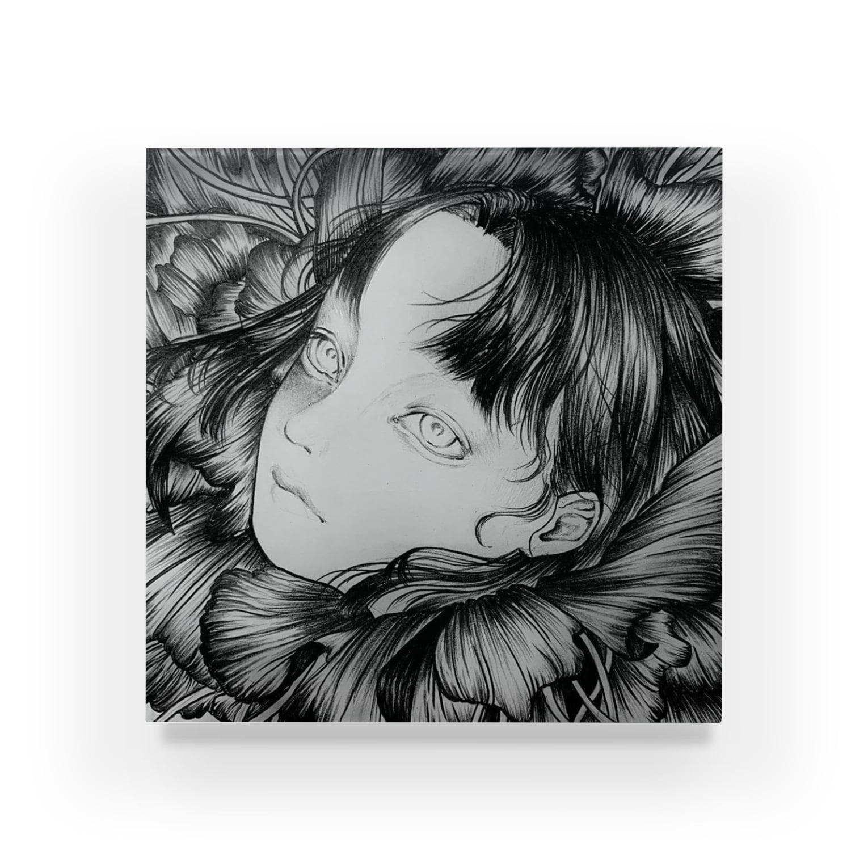 87の花 Acrylic Block