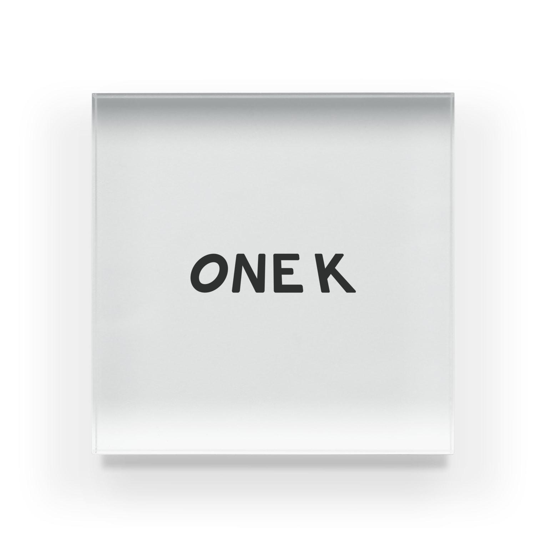 ビジネスライフスタイルのonek Acrylic Block