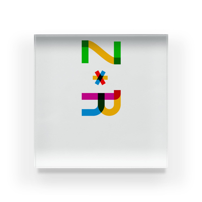marikiroのZR initial Acrylic Block