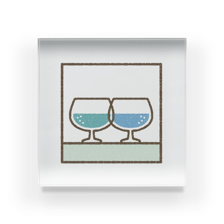 SAAYA'S SHOPの透ける Acrylic Block
