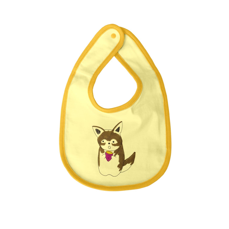 meri.の焼き芋大好きめりちゃん Baby bibs