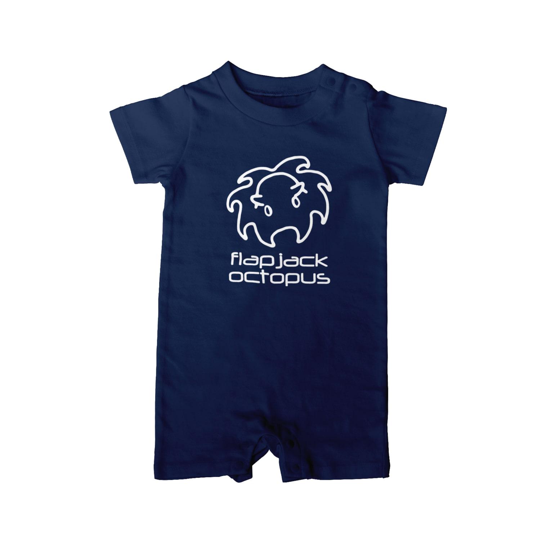 牛のTシャツ屋のメンダコ Baby rompers