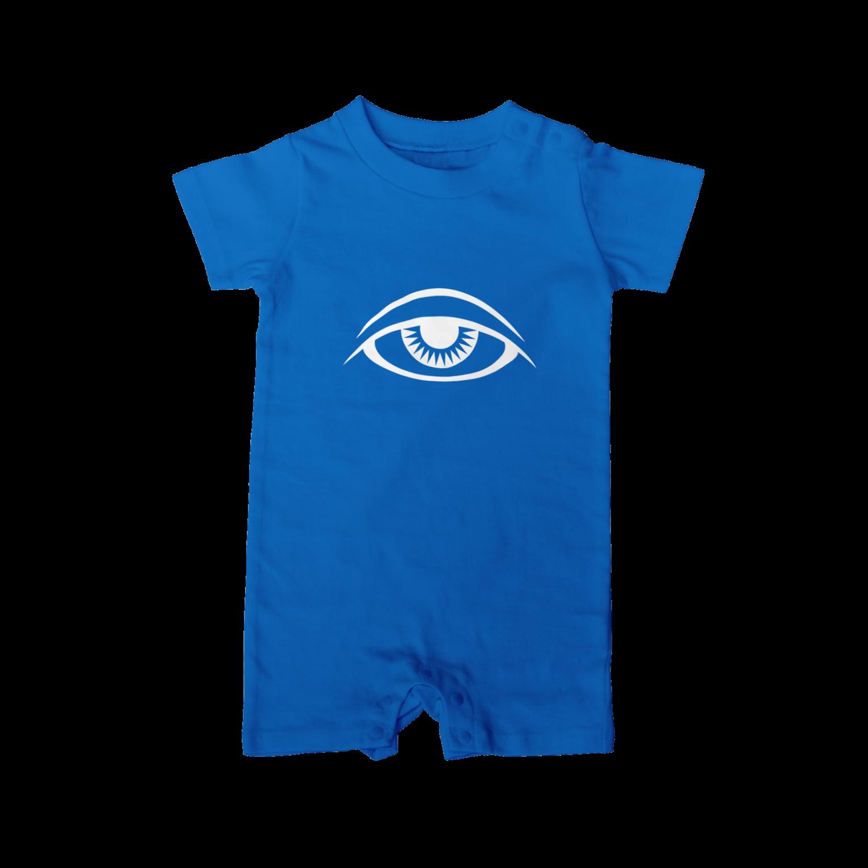 呪術と魔法の銀孔雀の瞳と魔法ベイビーロンパース