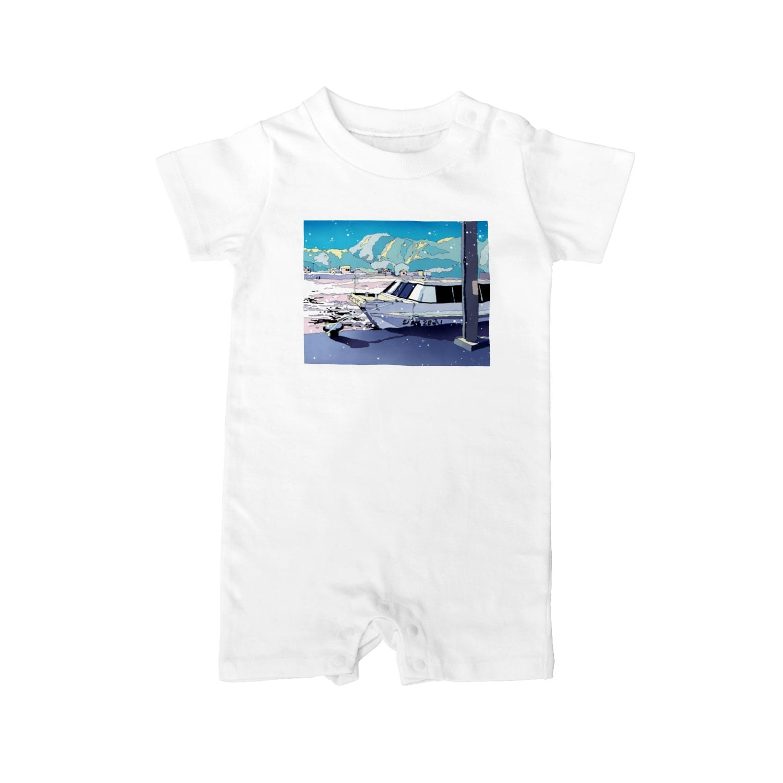 Saigetsuの夏行きの船 Baby rompers