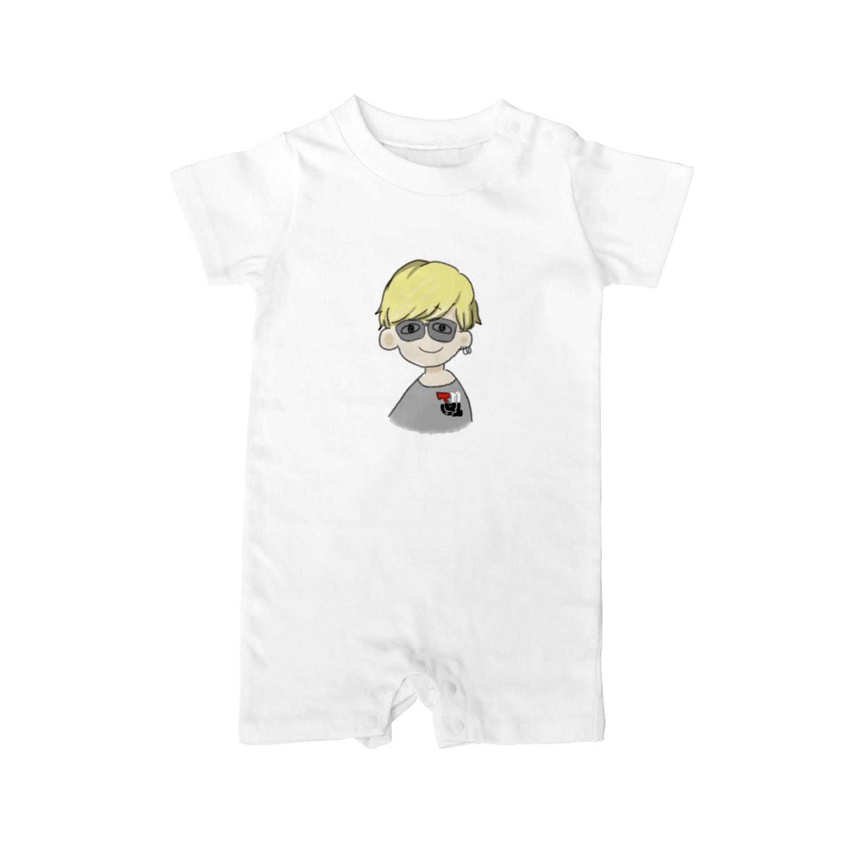 ___Ru____の金髪BOY Baby rompers