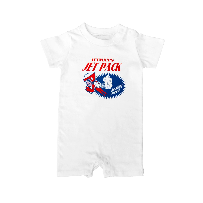 キクヤのジェットパックショップ広告 Baby rompers