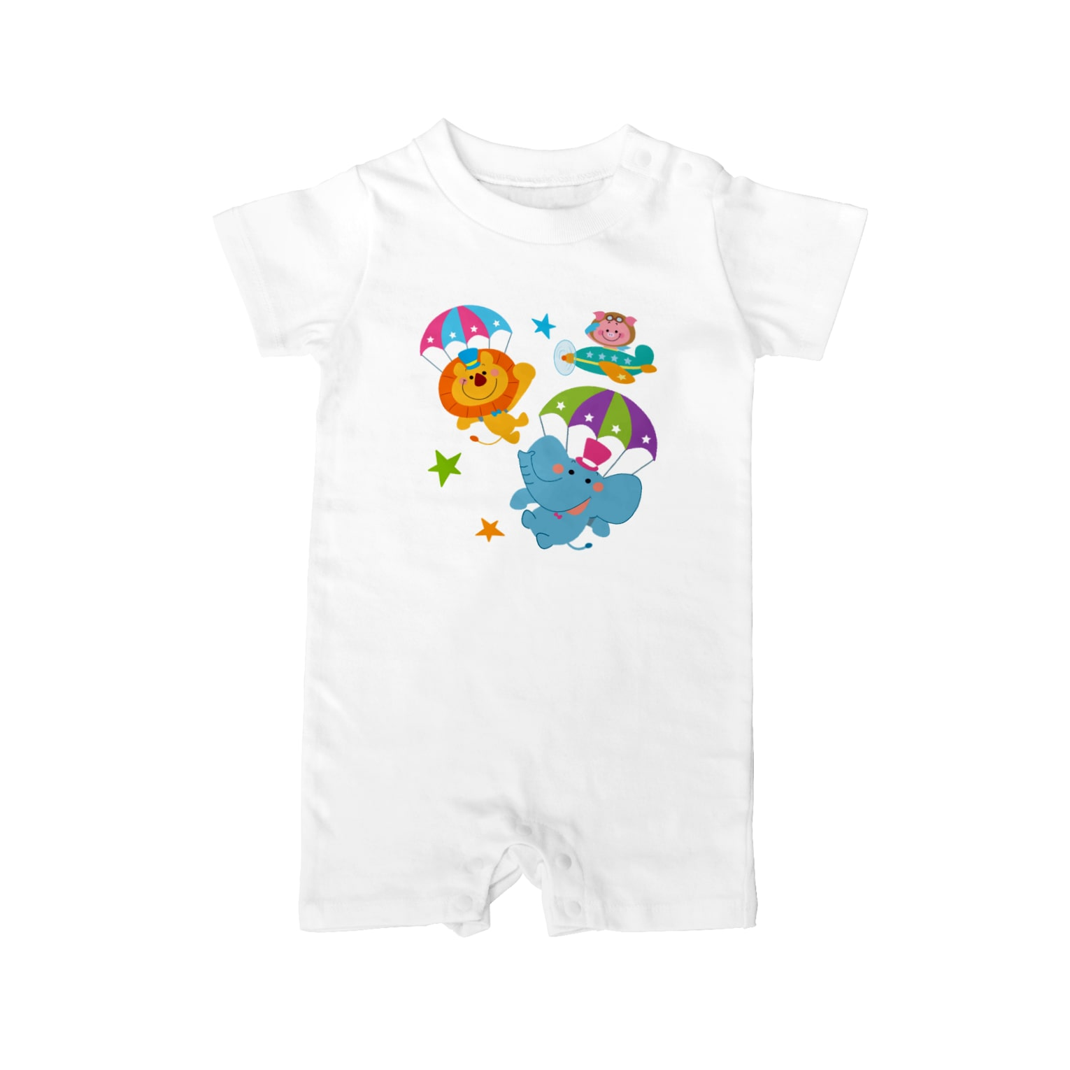 Nabecoのパラシュート Baby rompers