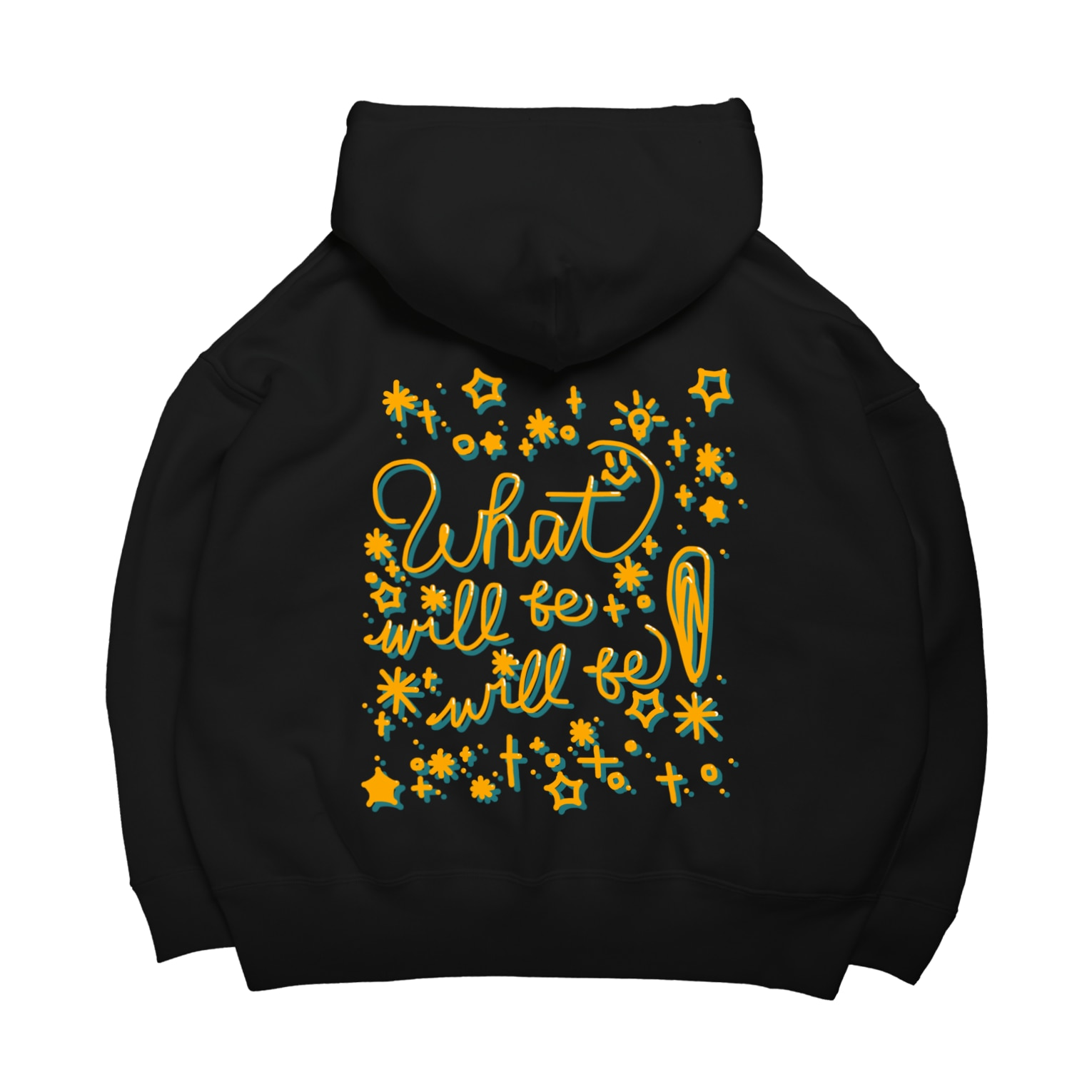 a-bow's workshopのWhat will be will be ! Big Hoodies