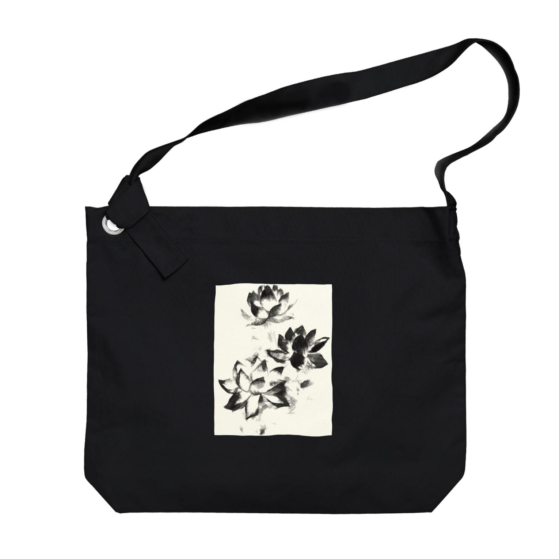 Lost'knotの大崎蓮 Big shoulder bags
