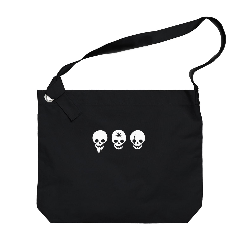 higotoraのWILD CAFE賊旗 Big shoulder bags
