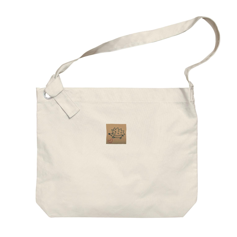 幸せハリネズミの幸せハリネズミ Big shoulder bags