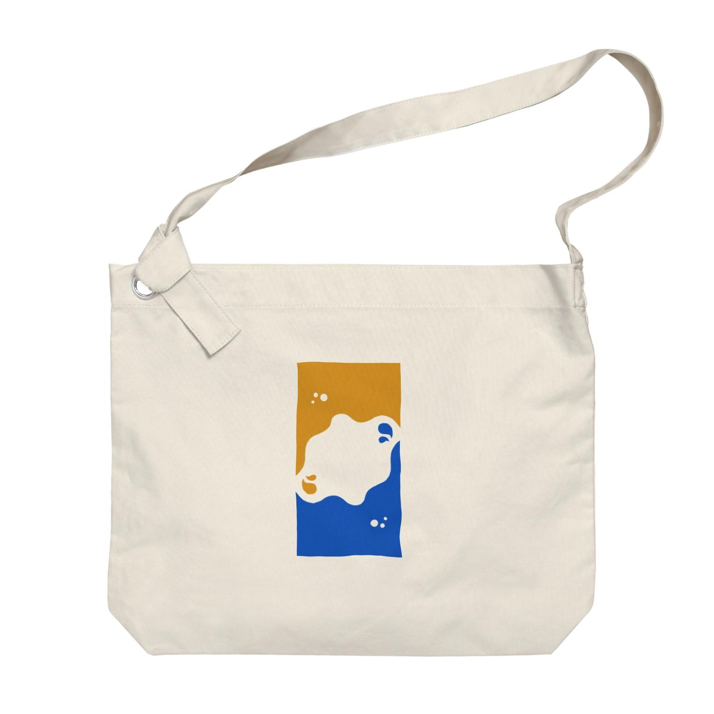 dolparchitectのキイロトアオ Big shoulder bags