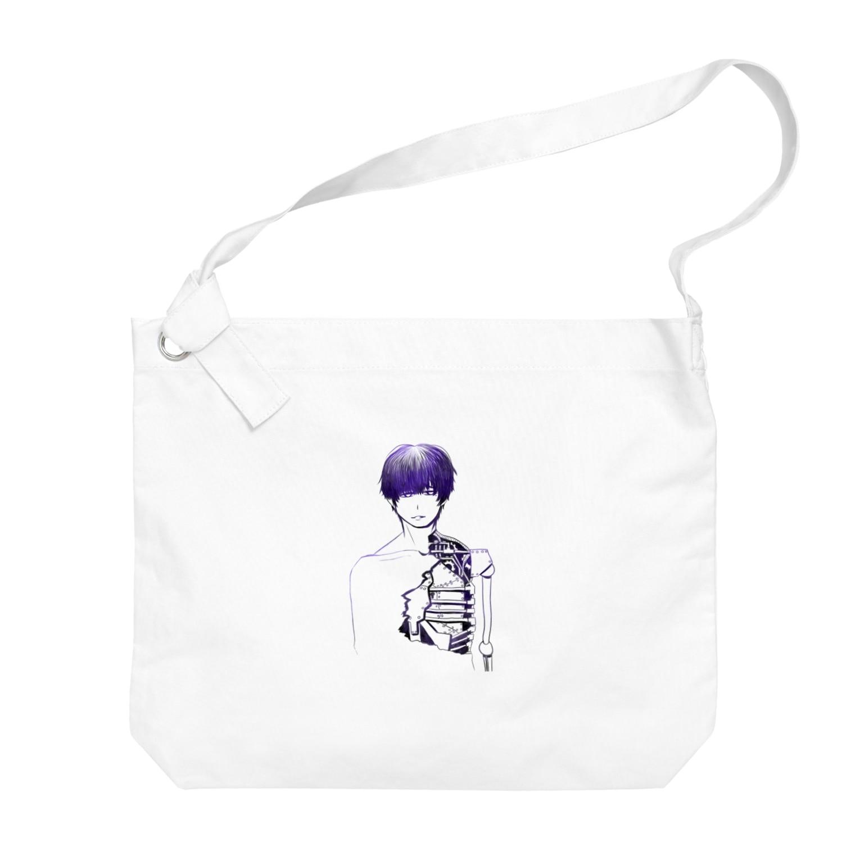 夜店の細胞愚(サイボウグ) Big shoulder bags