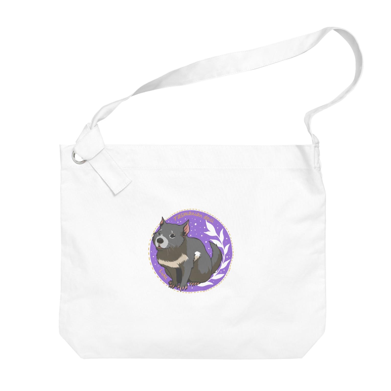 Lichtmuhleのタスマニアデビル Big shoulder bags
