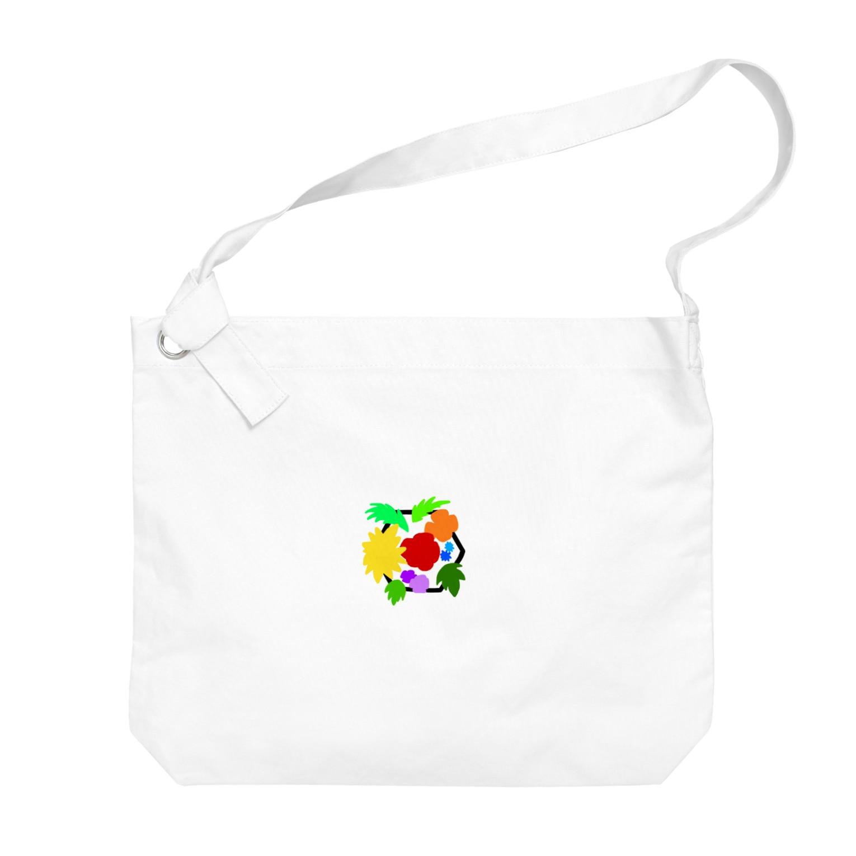 LanbR(ランブル)のブーケ(文字なし) Big shoulder bags