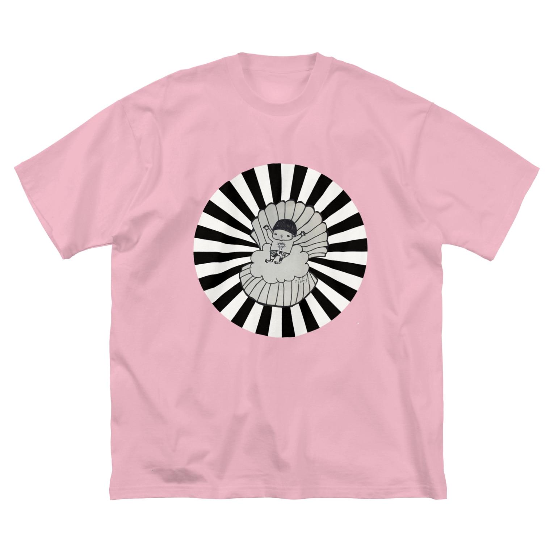 冬虫夏草洋品店の誕生、或は Big silhouette T-shirts