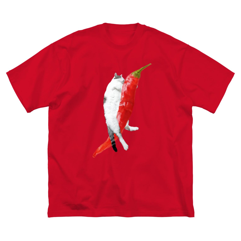 xxxmmxxxのトウガラシ Big silhouette T-shirts