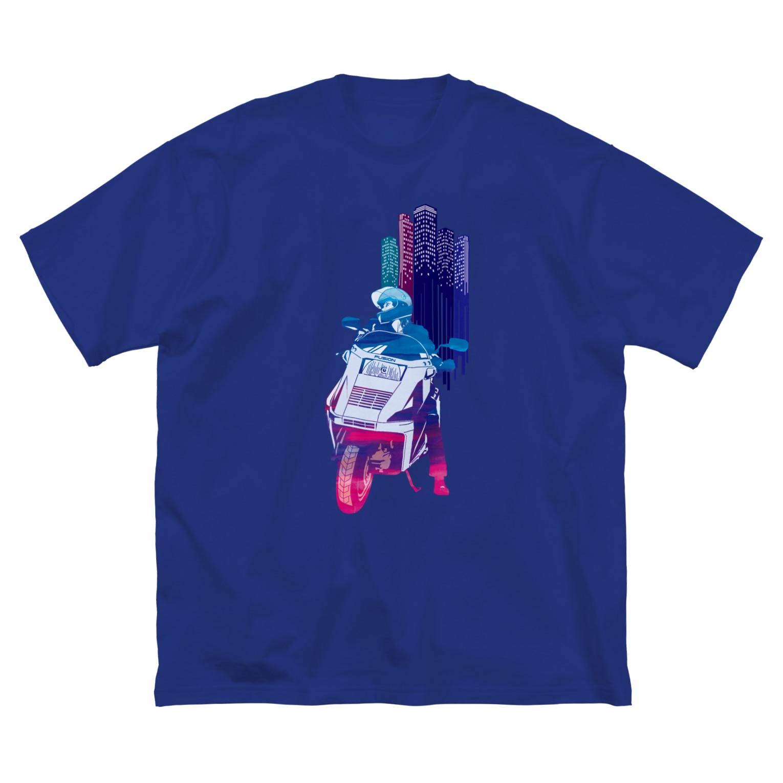 HIGEQLOのFUSION Big silhouette T-shirts