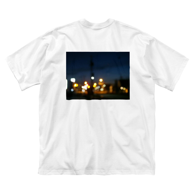 FFLprojectのsecret night Big silhouette T-shirts