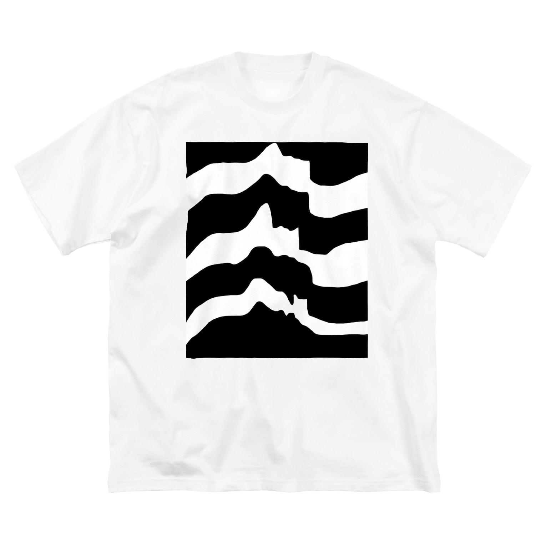 johnny's martの横顔ズ Big silhouette T-shirts