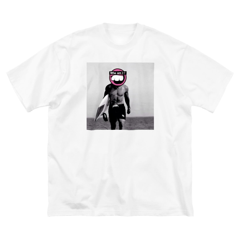 ドクロちゃん的なのさんちゃん的な Big silhouette T-shirts