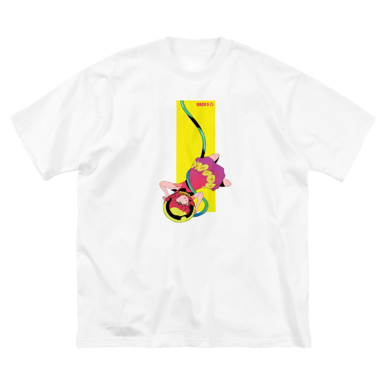 イノウエ向けアイテム販売所の2020 S 010 Big silhouette T-shirts