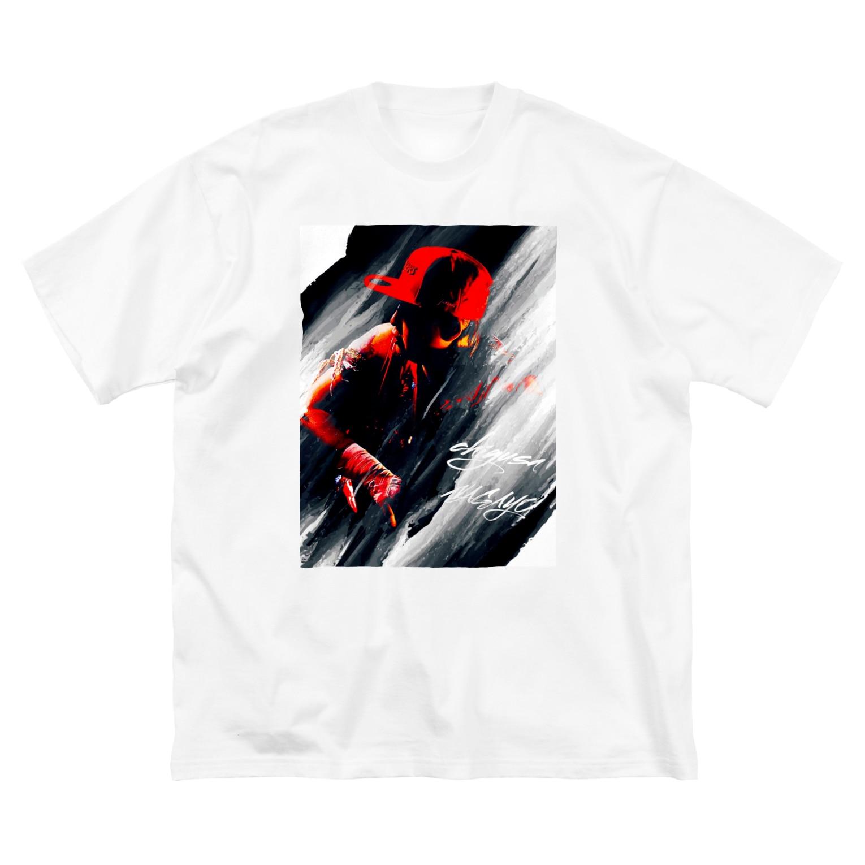 長与 千種 Chigusa NagayoのCHIGUSANAGAYO!ROCK! Big silhouette T-shirts