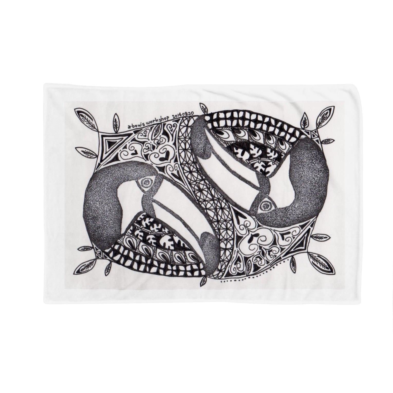 a-bow's workshopの思いのままに。オオハシとともに・・・。 Blankets