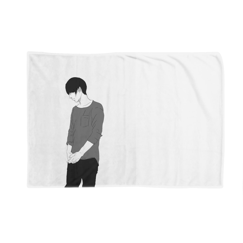 人生迷子センターのマッシュ男子 Blankets